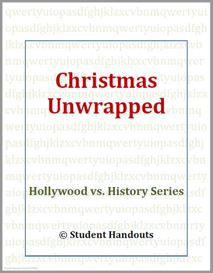 Christmas Unwrapped Video Workbook - Free to print (PDF file).