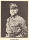 Marshal Foch in Uniform