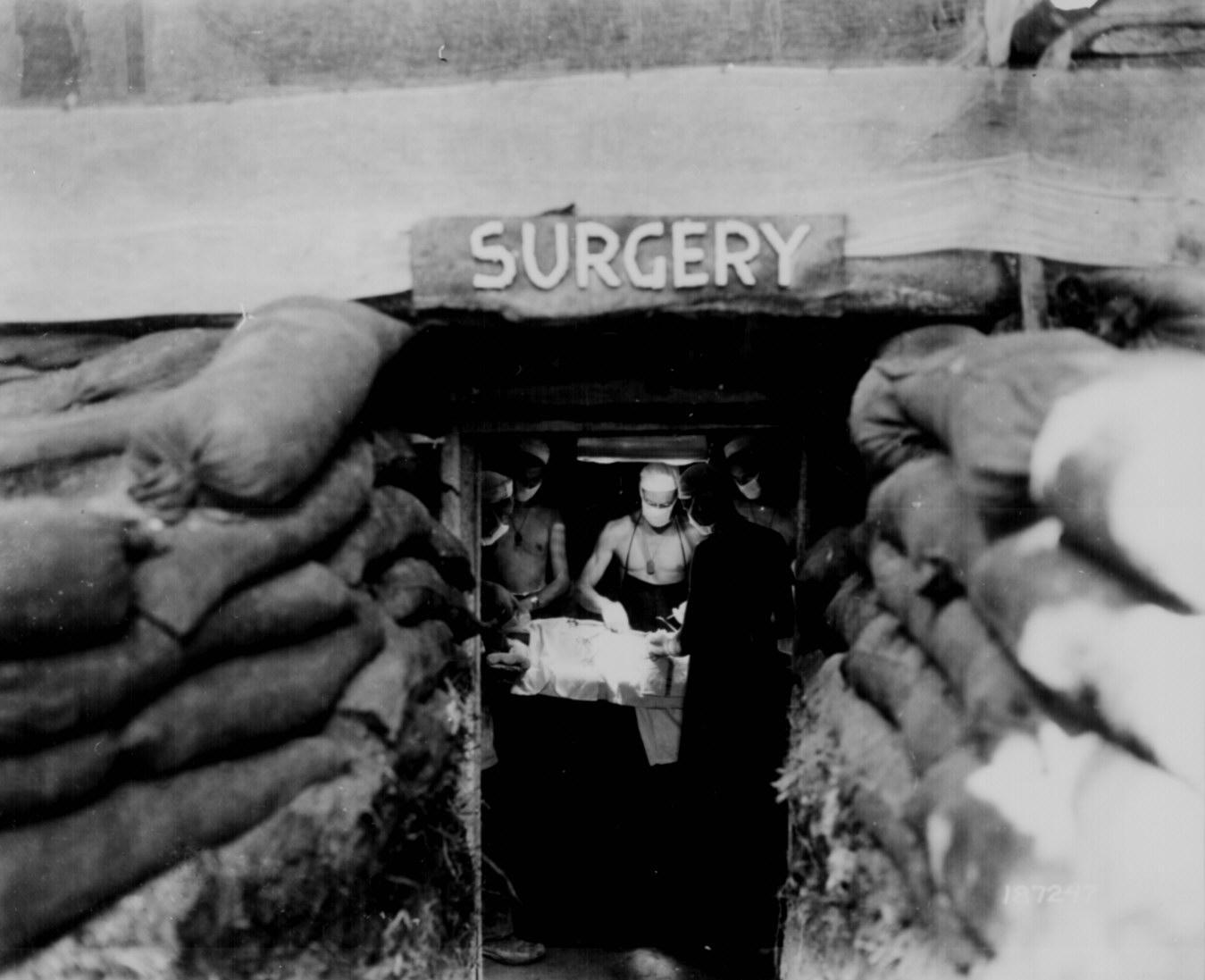 Battlefield Surgery in World War II