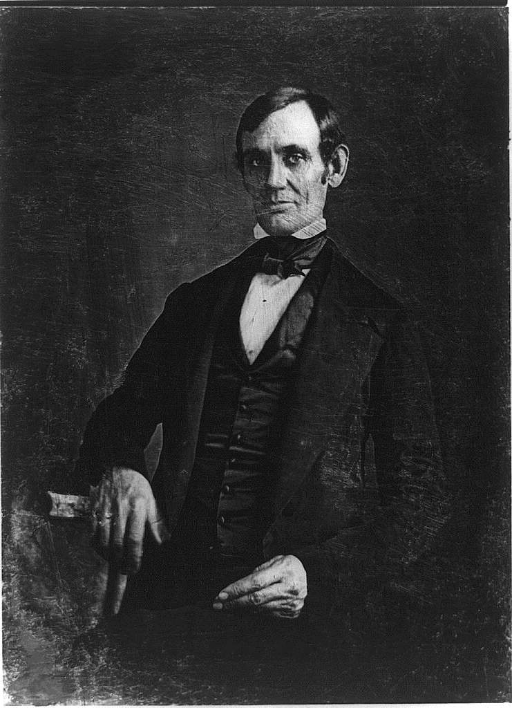 Abraham Lincoln in 1846 at Age 37