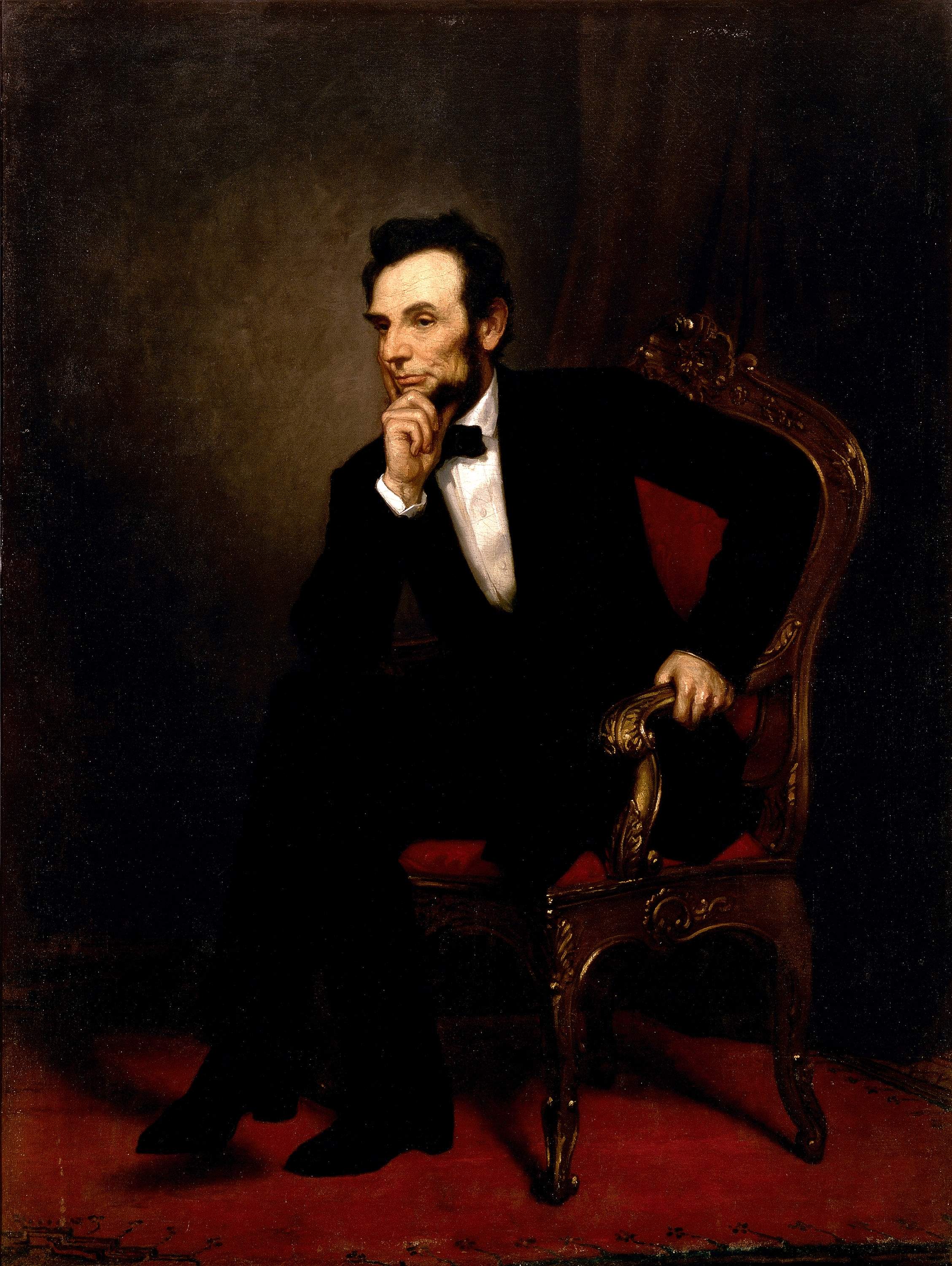 Healy Portrait of Abraham Lincoln