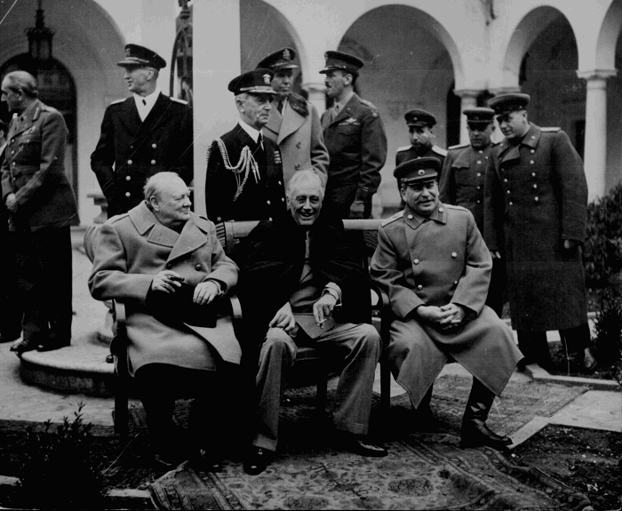 Big Three at the Yalta Conference (February, 1945)