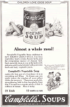 Vintage Campbell's Soup Company Ad