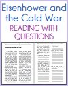 Eisenhower and the Cold War Reading with Questions