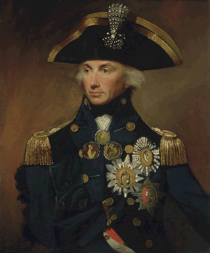 Rear-Admiral Sir Horatio Nelson by Lemuel Francis Abbott (1800)