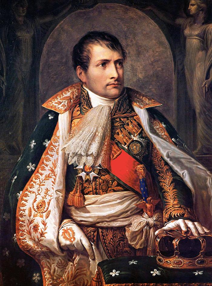 Emperor Napoleon I Portrait by Andrea Appiani