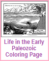 Life in the Early Paleozoic Coloring Page