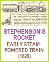 Stephenson's Rocket Locomotive