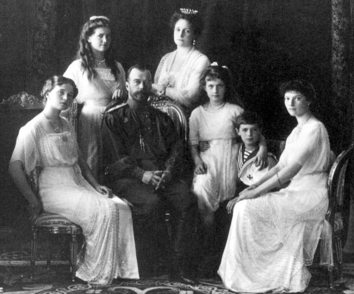 Romanov Family in 1913