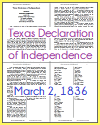 Texas Declaration of Independence (March 2, 1836)
