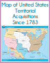Map of U.S. Territorial Acquisitions Since 1783
