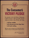 Consumer's Victory Pledge (World War II)