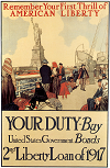 Buy Liberty Bonds WWI