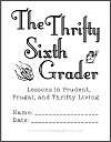 The Thrifty Sixth Grader Workbook (10 Pages)