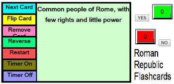 Establishment of the Roman Republic Interactive Flashcards for Studying