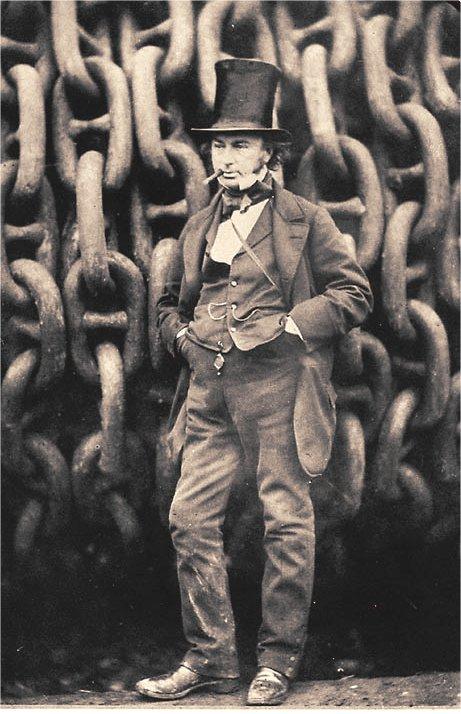 Isambard Kingdom Brunel in 1857