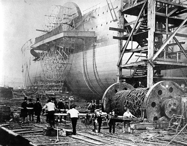 SS Great Eastern in 1858