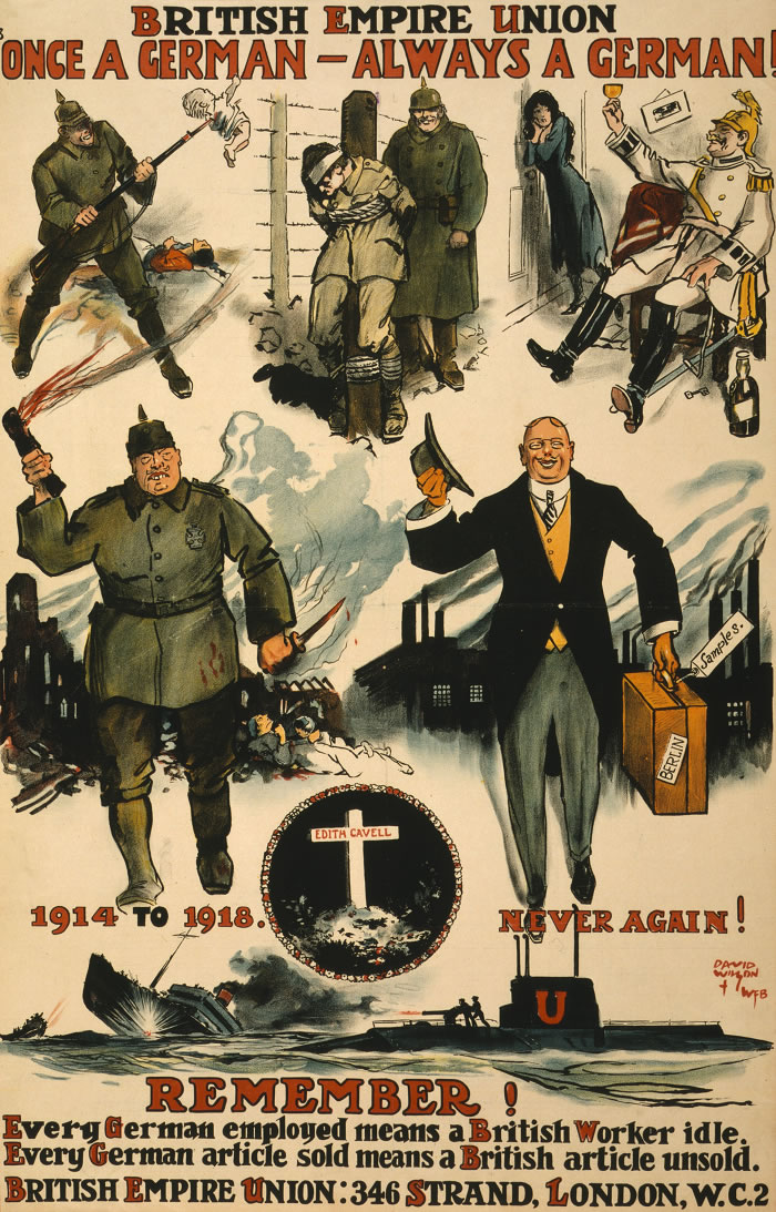 British Empire Union Interwar Period Propaganda Poster