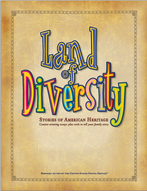 Land of Diversity: U.S. Heritage Workbook - Free to print. For upper elementary Social Studies students.