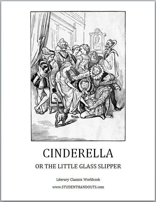 Cinderella Literary Classics Workbook - Free to print (PDF file).