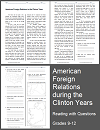 U.S. Foreign Policy under Bill Clinton Reading with Questions