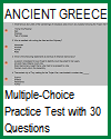 Ancient Greece Multiple-Choice Test with 30 Questions