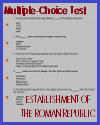 Establishment of the Roman Republic Multiple-Choice Practice Test