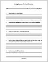 French Revolution Writing Exercises Worksheets