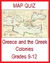 Ancient Greece and the Greek Colonies Map Quiz