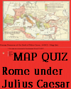 Interactive Map Quiz on Roman Dominions at the Death of Julius Caesar in 44 B.C.E.