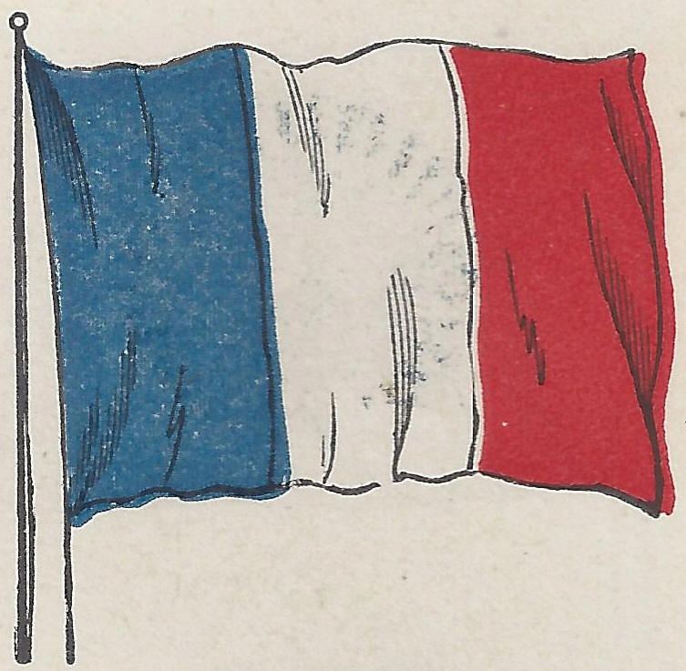 Tricolor Flag of the French Republic