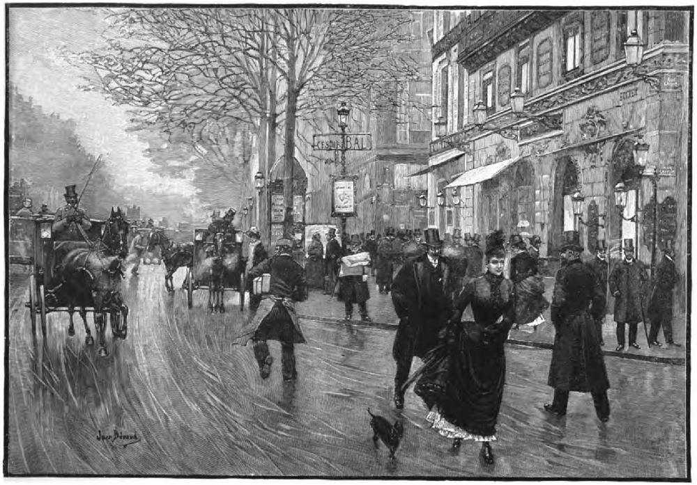 Boulevard des Italiens, Paris, France, 1893