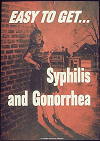 Syphilis and Gonorrhea U.S. Army Poster