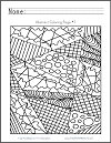Abstract Coloring Page #7