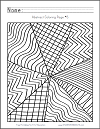 Abstract Coloring Page #5