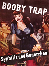 Booby Trap Venereal Disease Poster