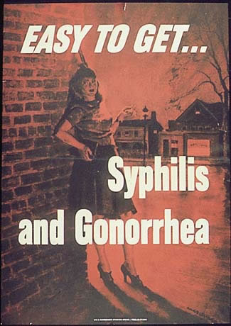 Syphilis and Gonorrhea Poster - United States Army