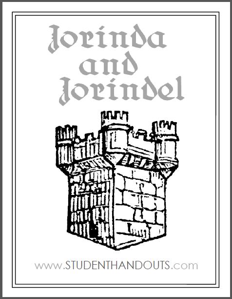 Jorinda and Jorindel eBook with Worksheets - Free to print fairy tale unit (PDF files).