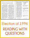 Election of 1996 and the Political Aftermath Reading with Questions