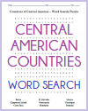 Central American Countries Word Search Puzzle