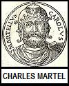 """Charles Martel """"The Hammer"""" (686-741 C.E.)"""