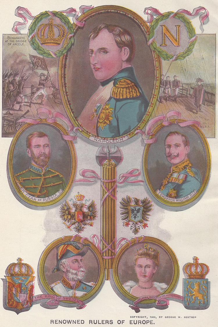 Renowned Leaders of Europe in the Nineteenth Century