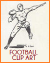 American Football Clip Art