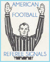 American Football Referee Signals