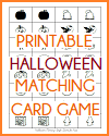 Halloween Memory-Style Matching Card Game