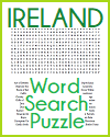 Ireland Word Search Puzzle