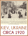 Principal Street, Kiev, Ukraine, USSR, circa 1920