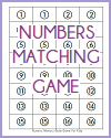 Numbers Memory-Style Card Game