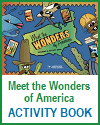 Meet the Wonders of America Coloring and Activity Book