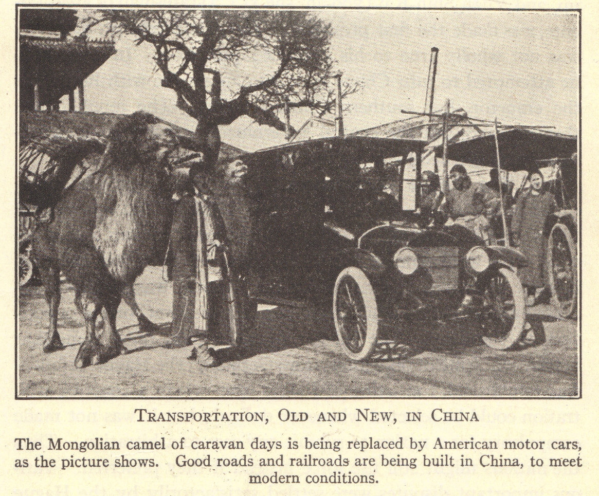 Transportation in China in the Early Twentieth Century